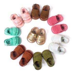 Letní dětské batolecí protiskluzové sandálky