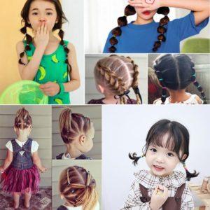 Dětské roztomilé gumičky do vlasů