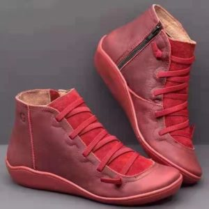 Dámské koženkové barevné podzimní boty Cristina - více variant