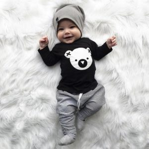Dětský set oblečení s medvídkem